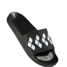 arena Team Stripe Slide Teenslippers en sandalen zwart